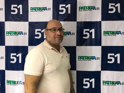 Paulo Cesar Souza, Tesoureiro PEN Patriota 51 RJ