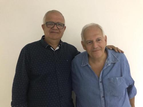 Walney Rocha, Presidente Estadual PEN Patriotas 51 RJ e Clelvio Martins, Presidente Municipal PEN Patriota 51 Iguaba