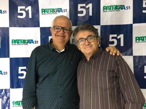 Walney Rocha, Presidente Estadual PEN Patriotas 51 RJ e o Prefeito da cidade de Natividade Severiano Nenem